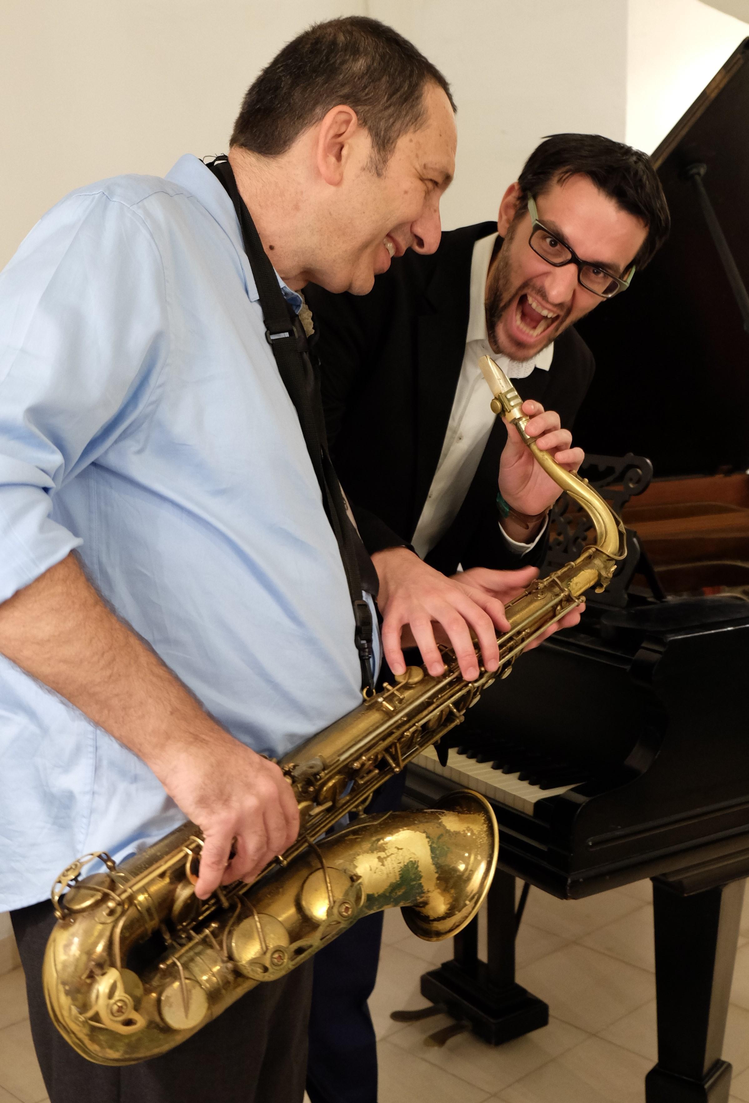 """שלומי גולדנברג ועמית ויינר - """"כשקלאסי וג'אז נפגשים"""