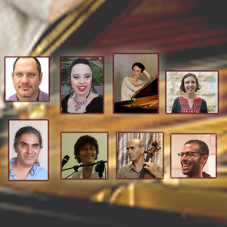 שלהי קיץ ערב יצירות מאת 6 מלחינים