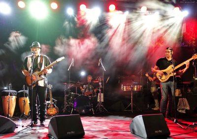 CG & sonsבמופע השקת האלבום'Holy Land Blues'