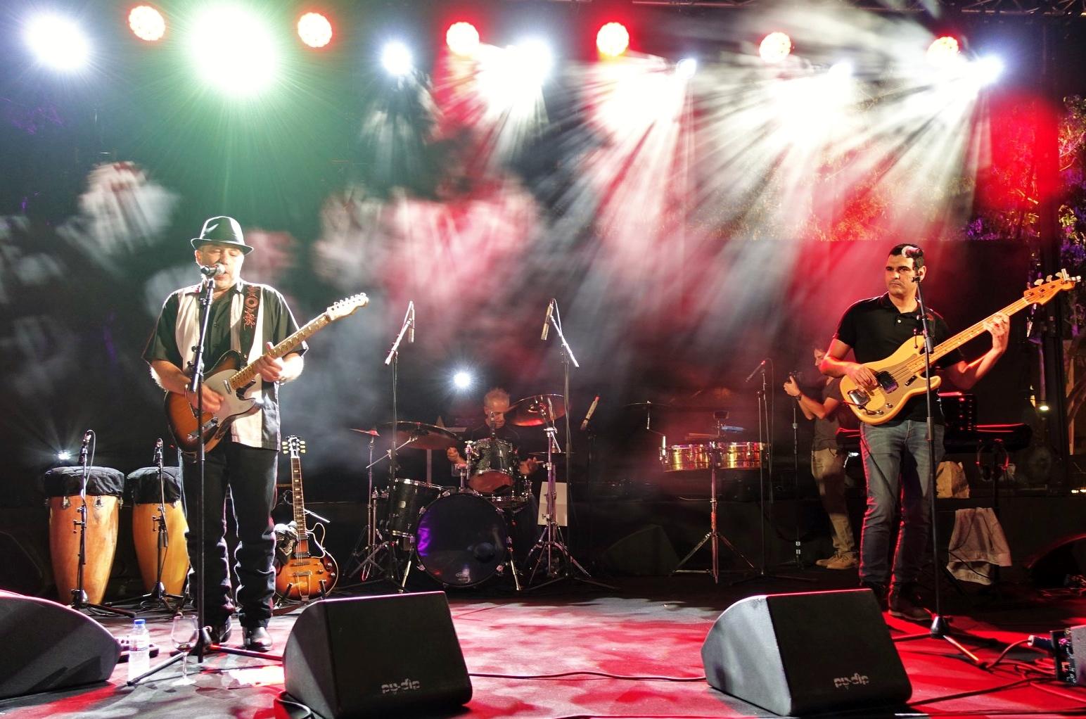 CG & sons במופע השקת האלבום החדש 'Holy Land Blues'